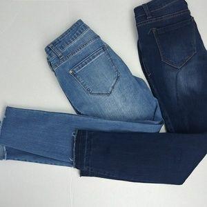 Bundle two Kensie skinny jeans size 2/26